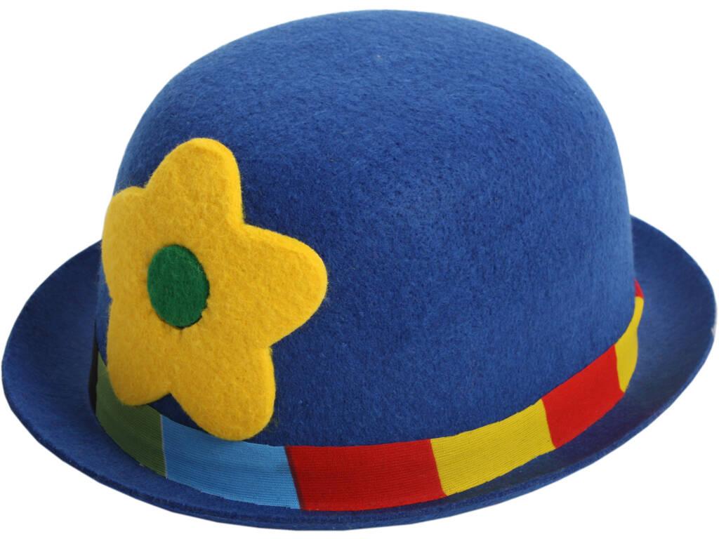 Sombrero Payaso Flor