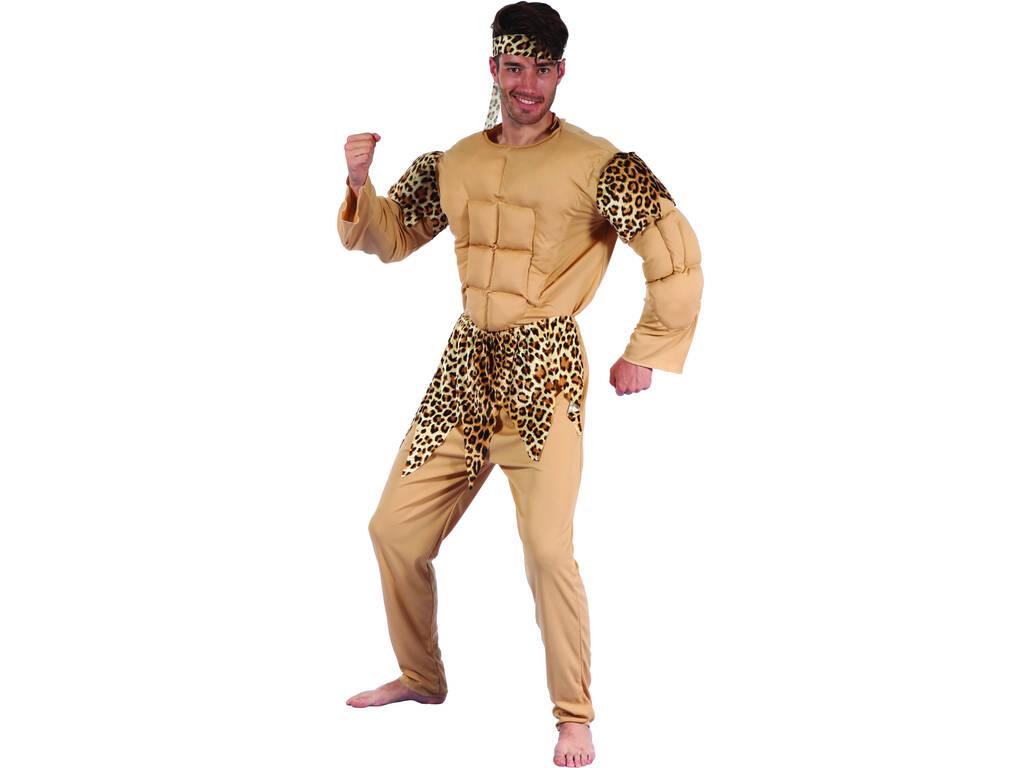 Disfraz Cavernicola Musculoso Hombre Talla XL
