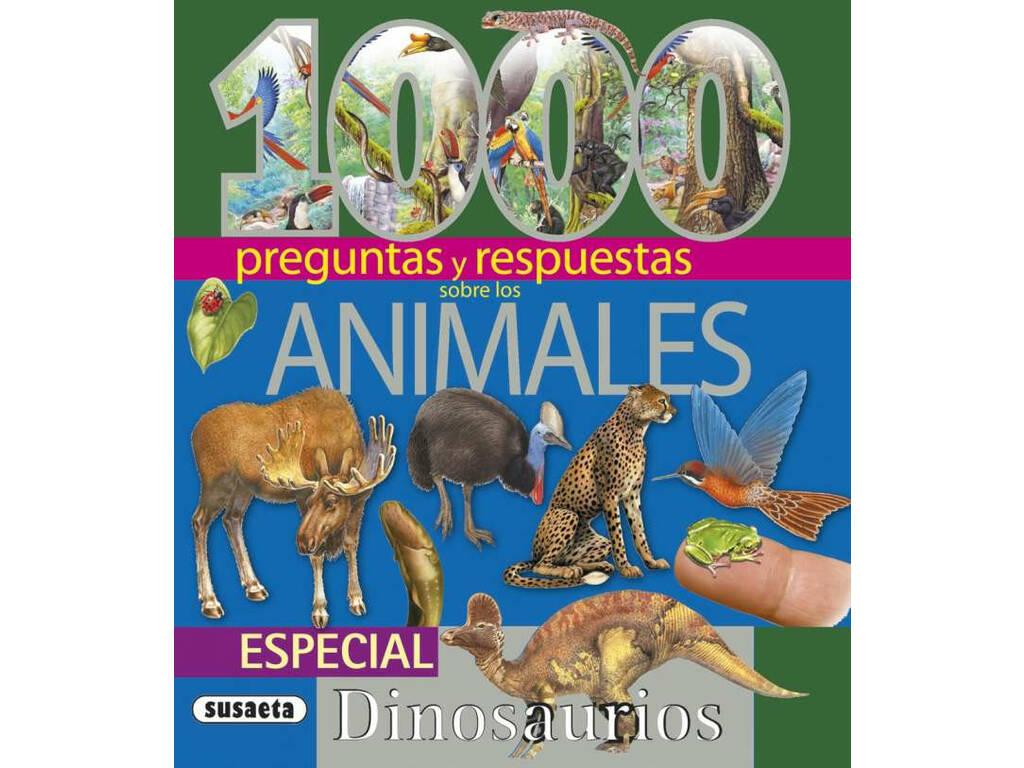 Libro 1.000 Preguntas y Respuestas Animales Susaeta S0097