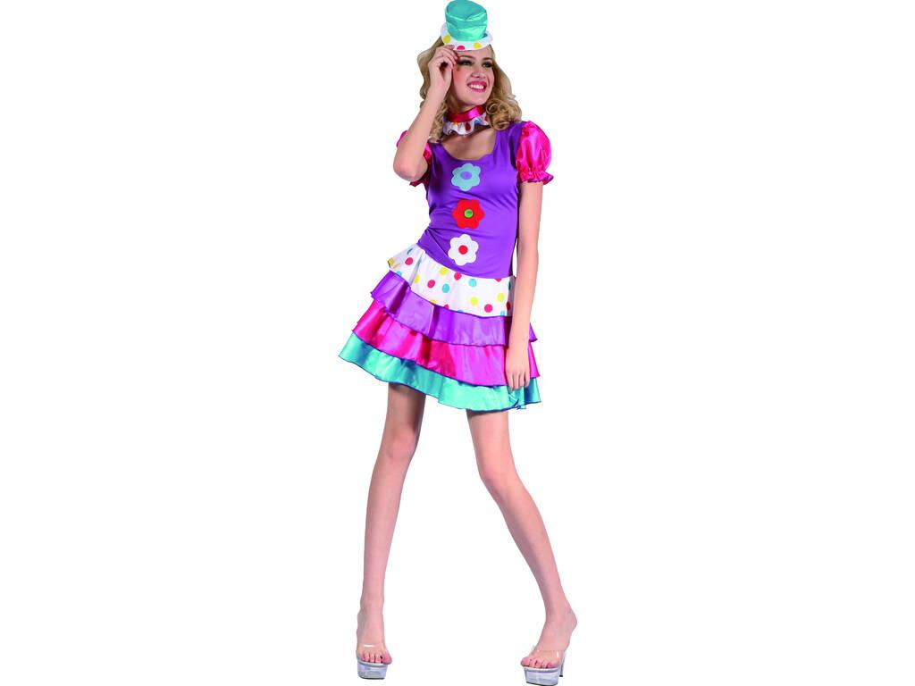 Disfraz Payasa Mujer Talla L
