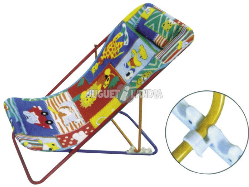 CHAISE CAMPING INFANTILE