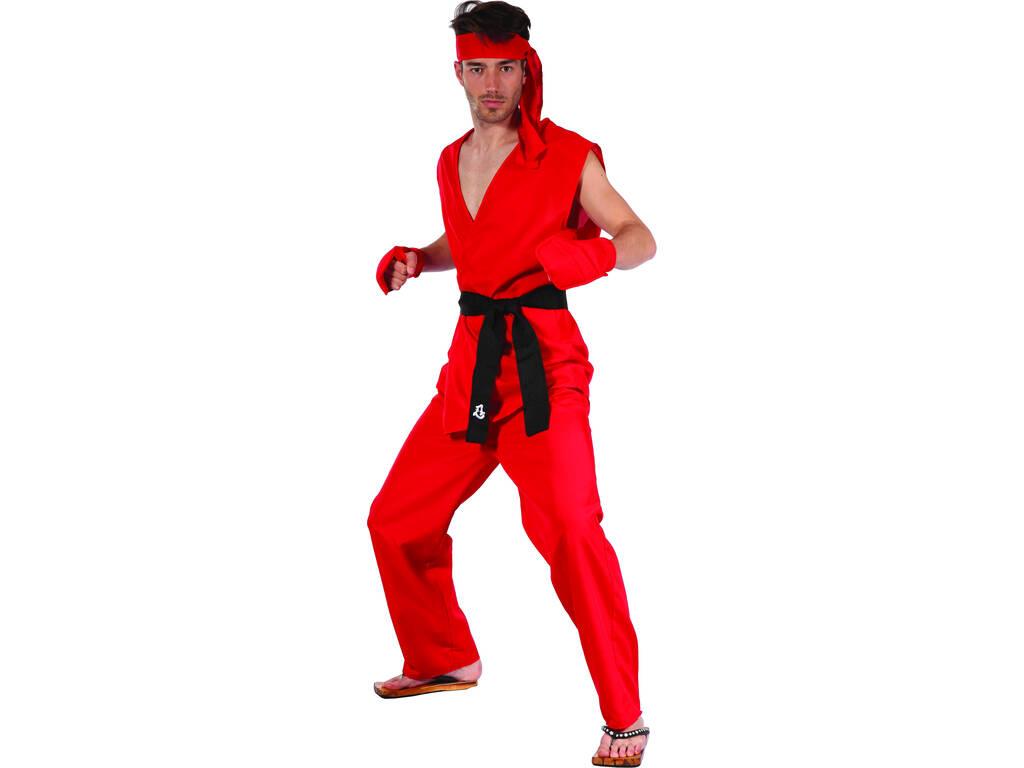 Disfraz Karateka Hombre Talla L