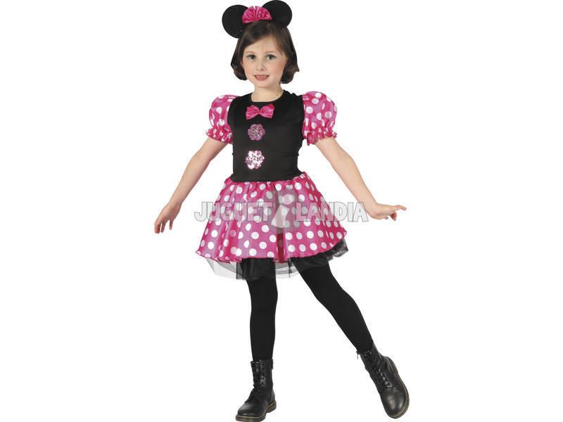 Disfraz Ratoncita Rosa Niñas Talla XL