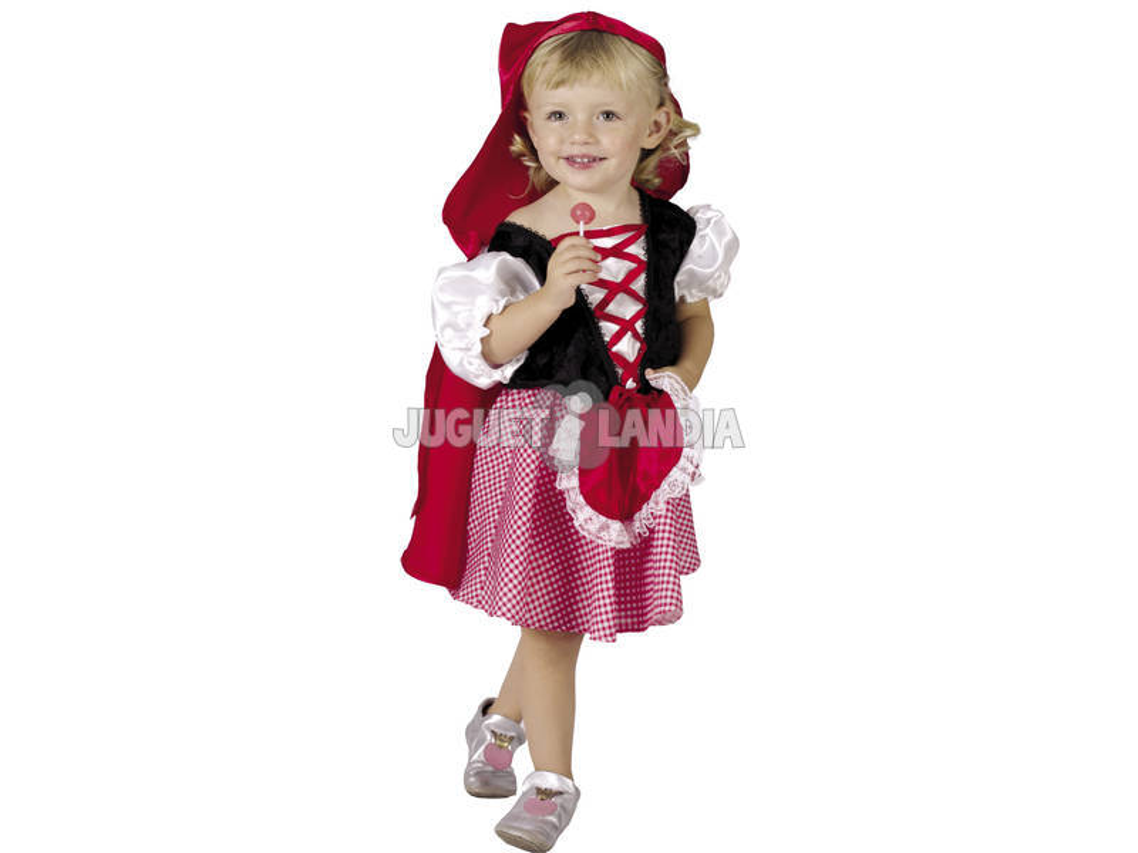 Maschera Cappuccetto Rosso per Bebè Taglia M