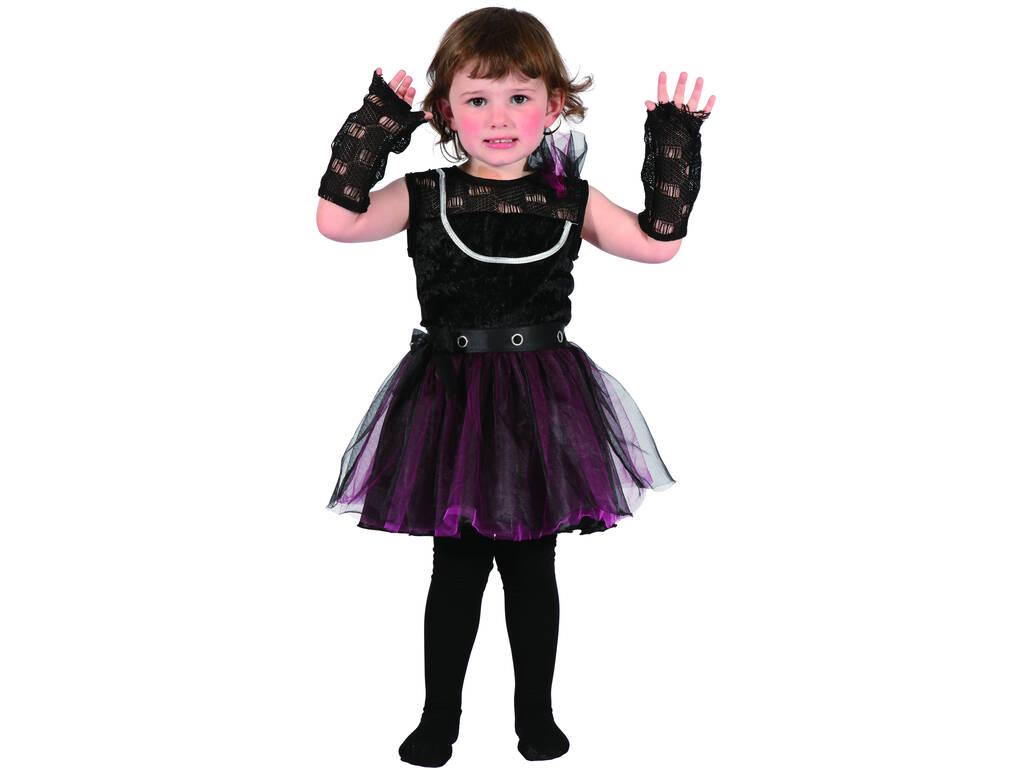 Disfraz Punki Bebé Talla S