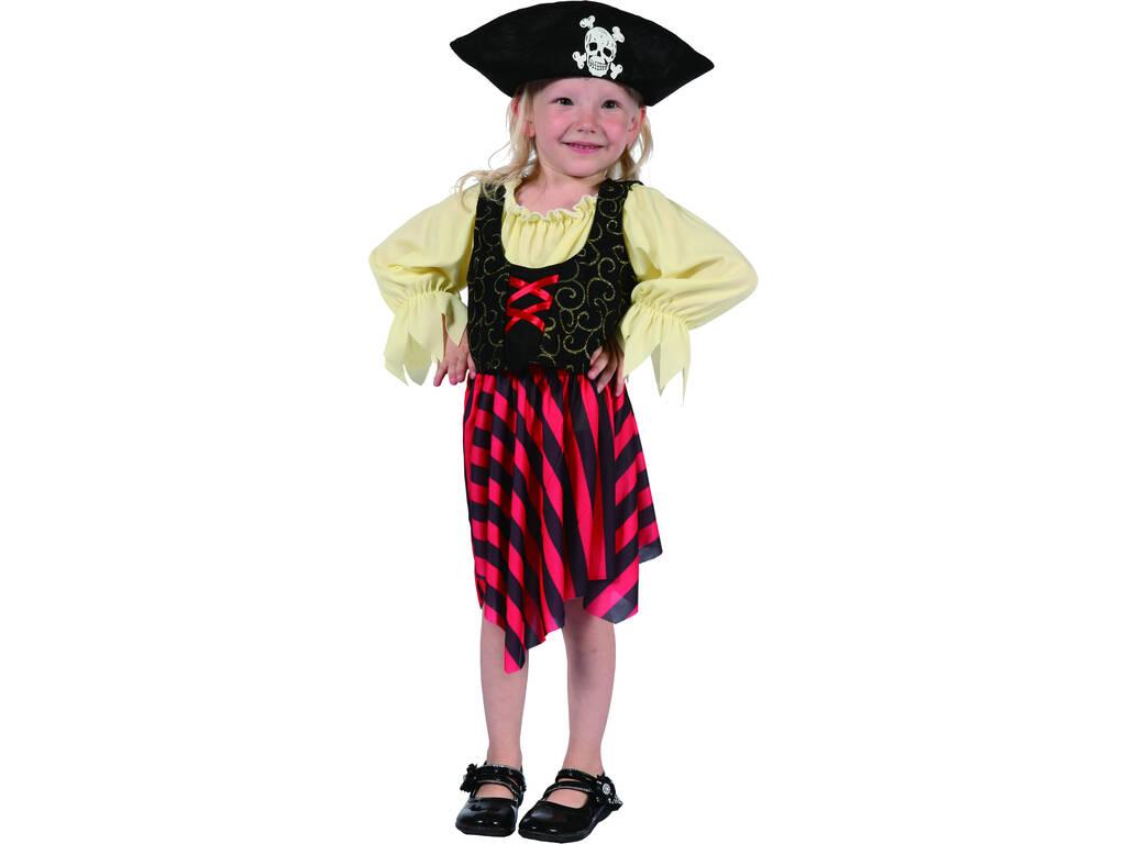Disfarce Pirata Bebé Tamanho S