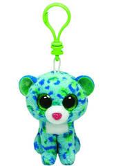Peluche Llavero Leona Green Leopard