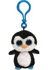 imagen Peluche Llavero Waddles Penguin 10 cm
