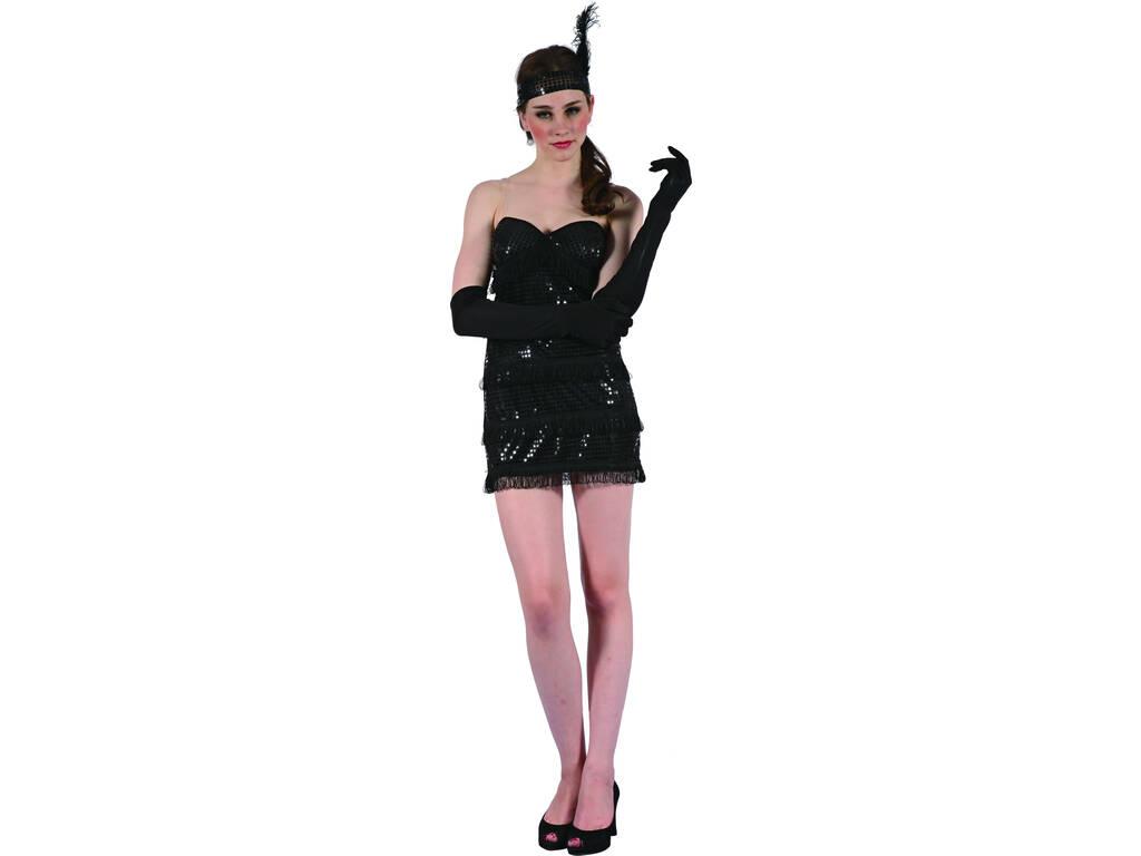 Costume Ragazza Moderna Nera Donna L