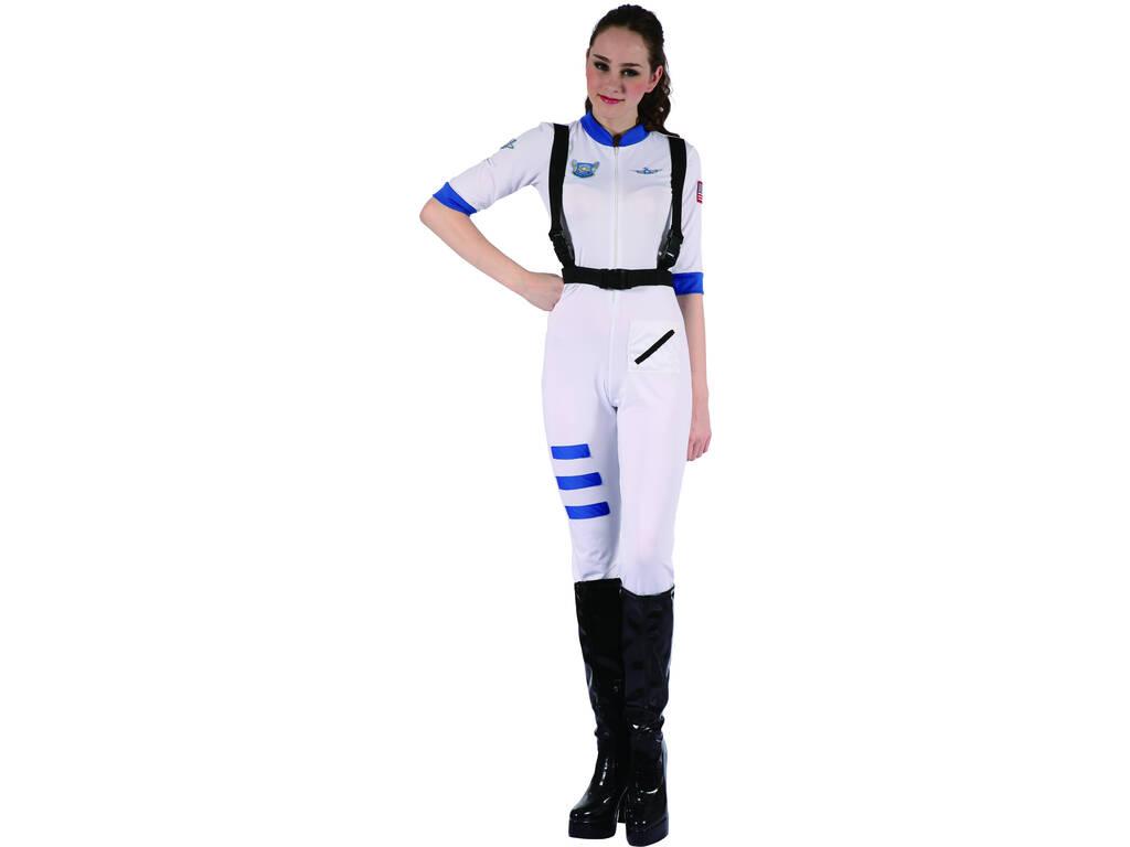Disfarce Astronauta Mulher Tamanho XL