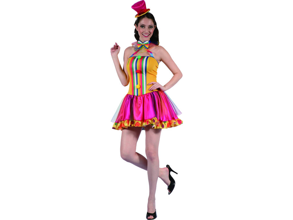 Costume Clown Papillon Donna L