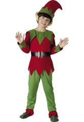 Disfraz Elfo Niños Talla S