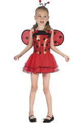 Disfraz Mariquita Lacitos Niña Talla S