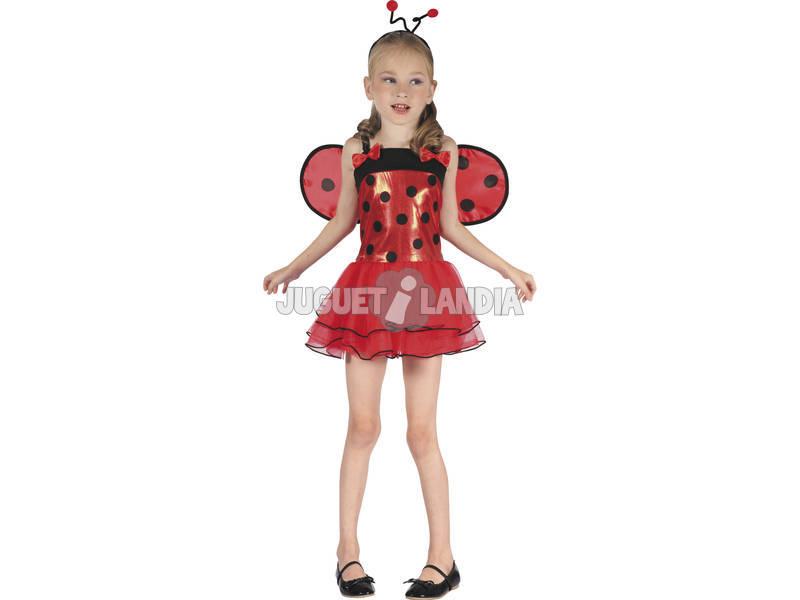 Disfraz Mariquita Lacitos Niña Talla L