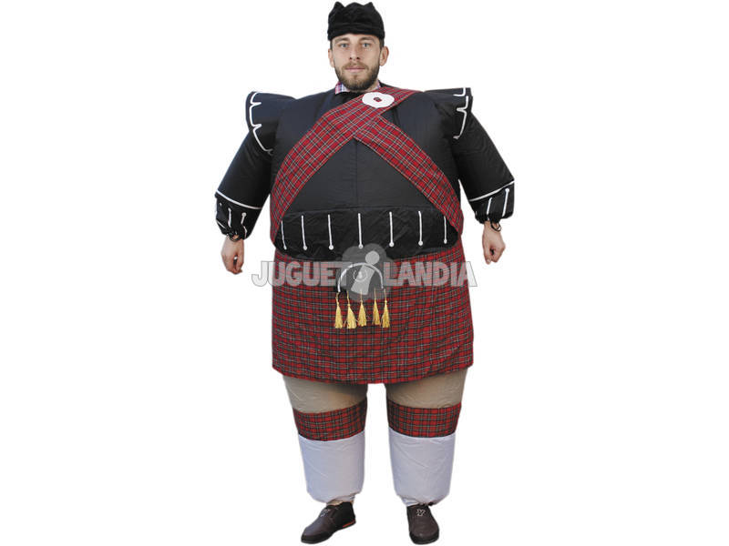 Fantasia Insuflável Escocês