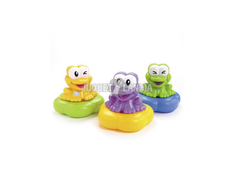 3 Grenouilles Flottantes pour le bain