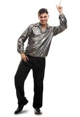 Costume Uomo Disco Boy L