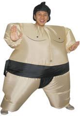 Maschera Gonfiabile Lottatore di Sumo
