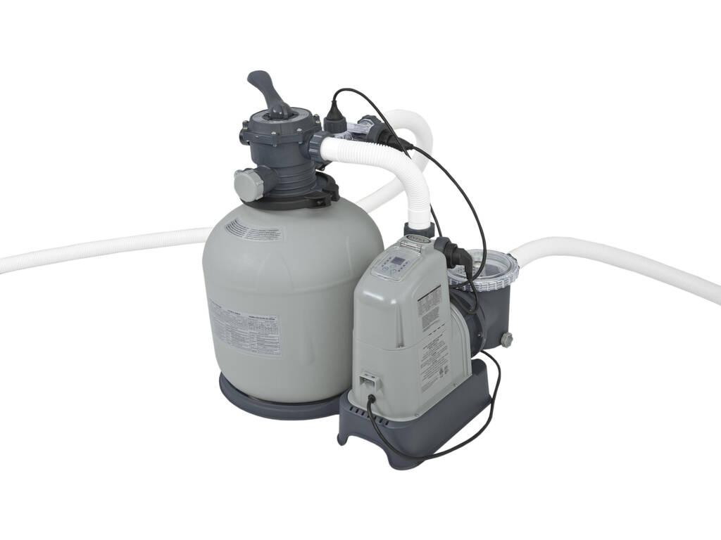 Filtro a sabbia 10.000 l/h Clorinatore Salino E.C.O Intex 28680