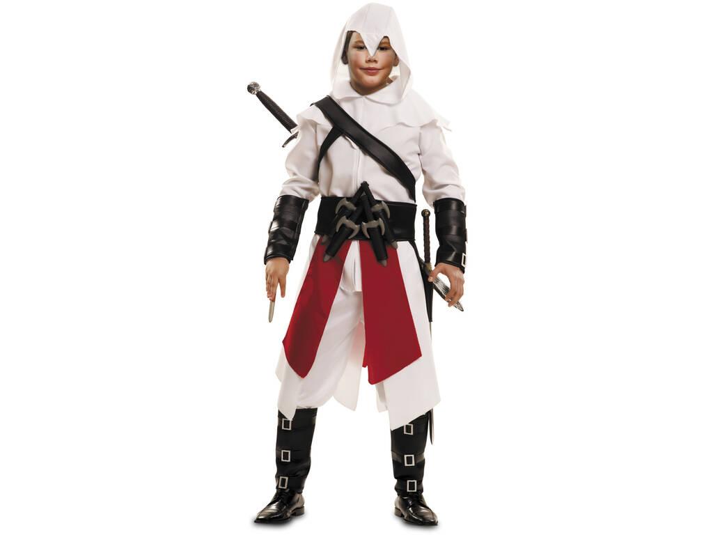Costume Bimbo M Samurai Bianco