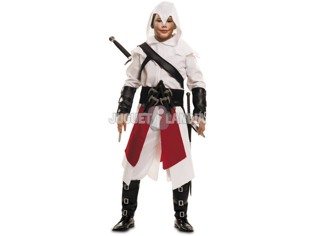Fantasia Menino XL O Assassino Branco