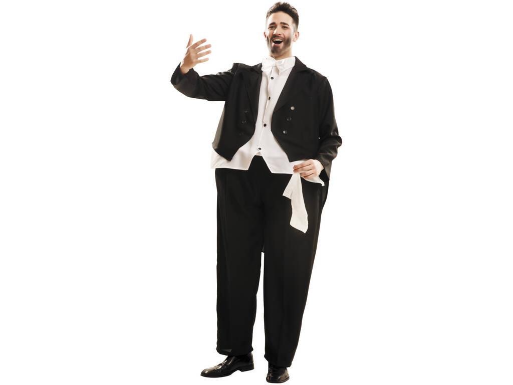 Fantasia Homem L Cantor de Ópera