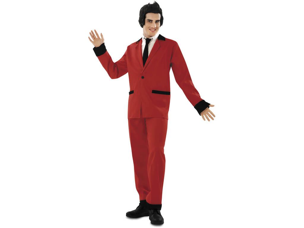 Disfraz Hombre S Rockabilly Rojo