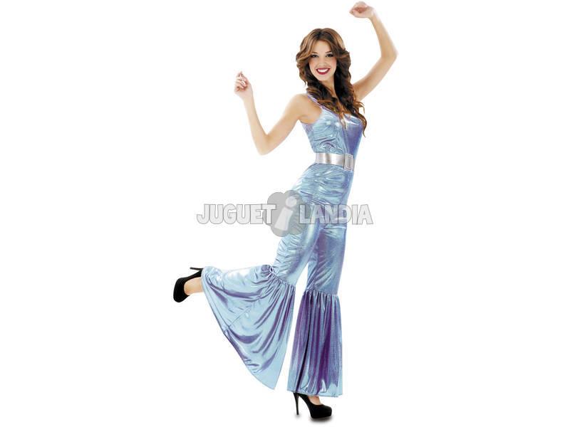 Disfarce Mulher S Disco Azul