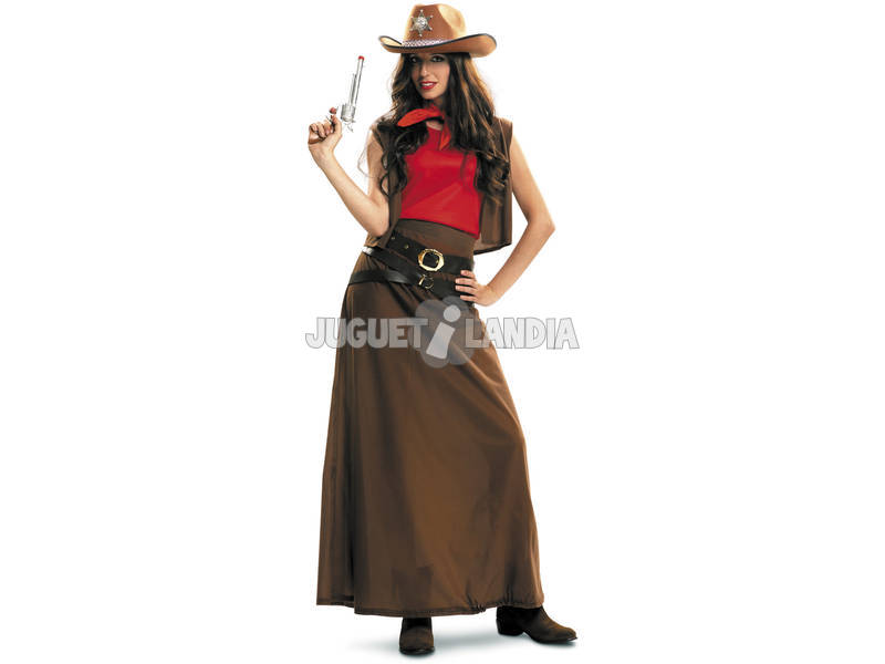 Costume Donna S Cow Girl