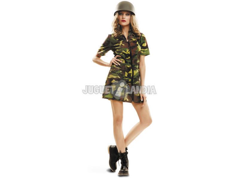 Disfraz Mujer S Soldado
