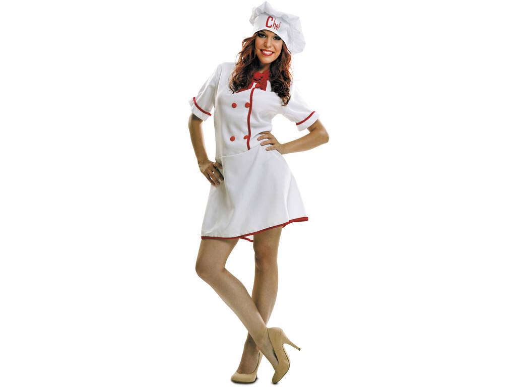 Disfarce Mulher Cozinheira S
