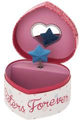 Frozen Boîte à Bijoux Musicale Coeur