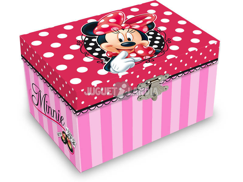 Joyero Musical Minnie Shop