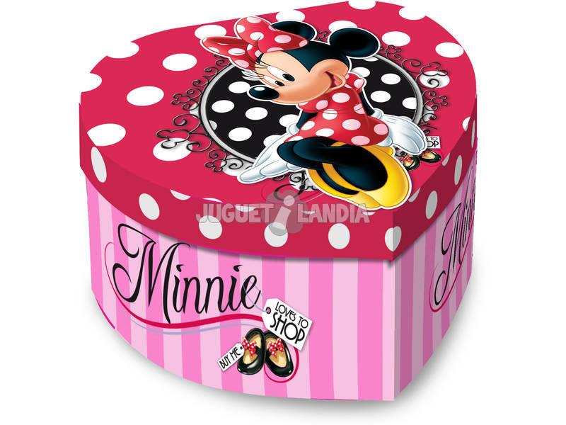 Joyero Musical Corazón Minnie Shop