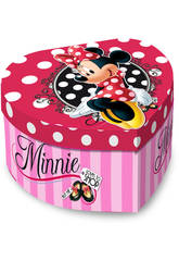 Joyero Musical Coraz�n Minnie Shop