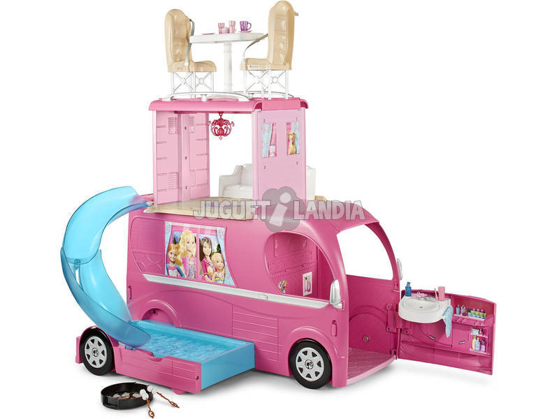 Barbie Autocaravana Superdivertida