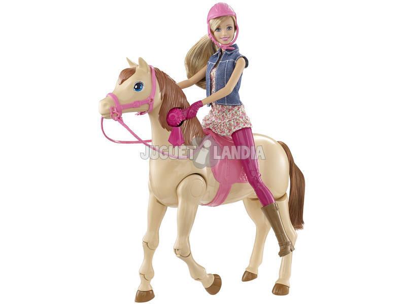 Barbie Monta a Caballo