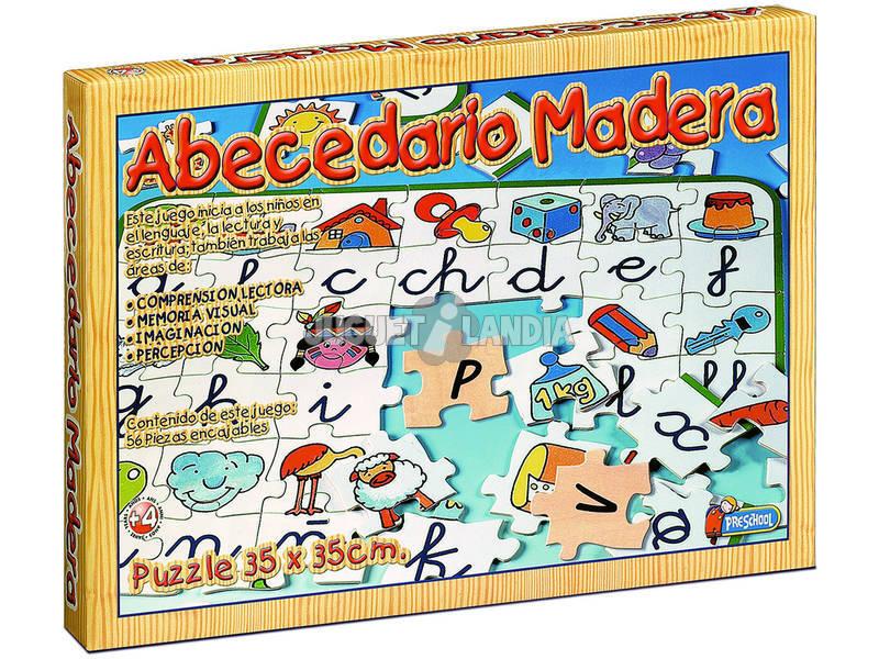 Puzzles de madera abecedario