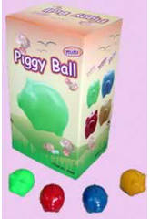 Boîte 50 boules tirelire petit cochon