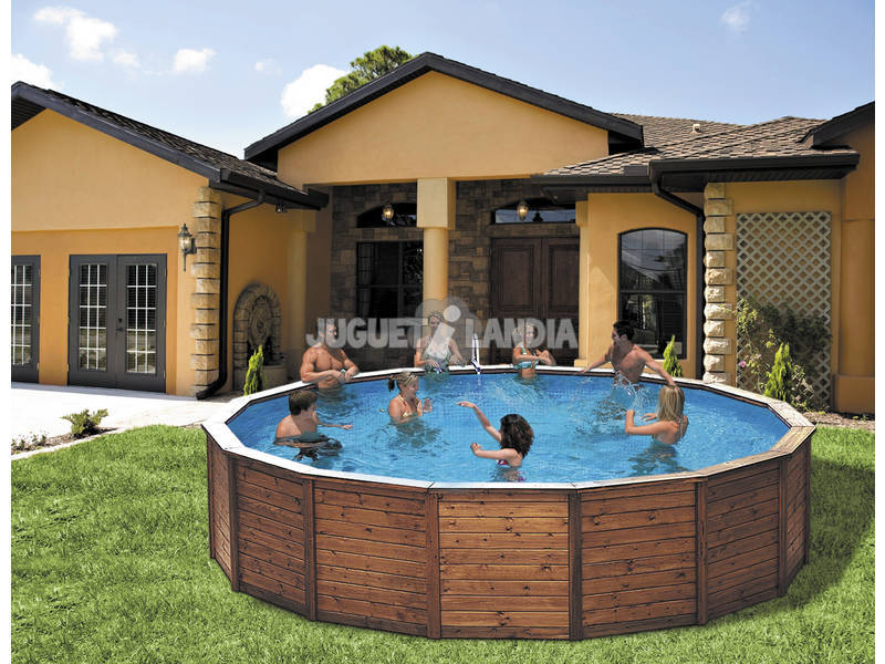 Acheter piscine en bois kokido 560x127cm juguetilandia for Acheter piscine en bois