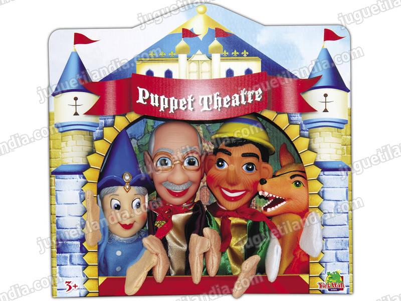 Marionette Set 4 Unità Pinocchio