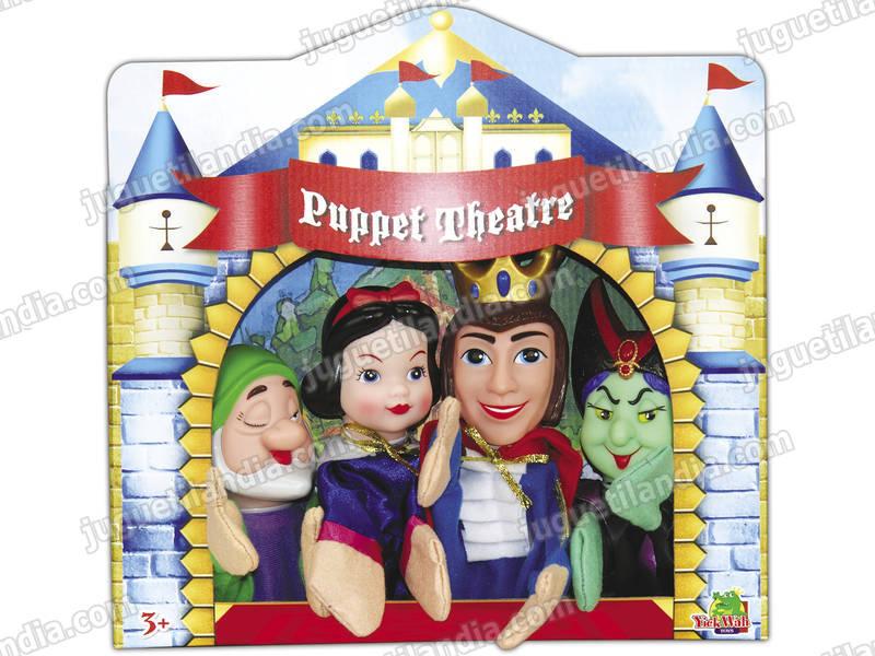 Marionette Set 4 Unità Biancaneve