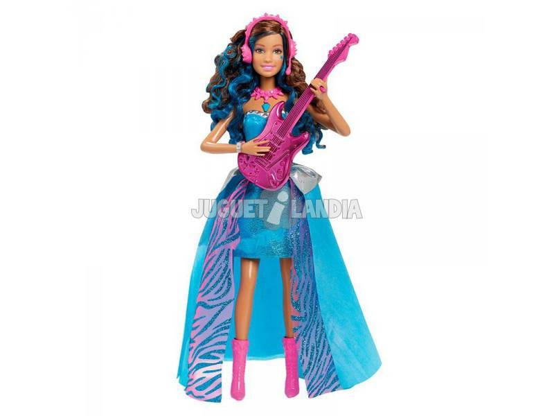 Barbie Erika Estrella Pop Campamento de Princesas