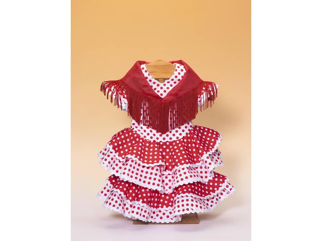 Vestido Sevilhana com Xale
