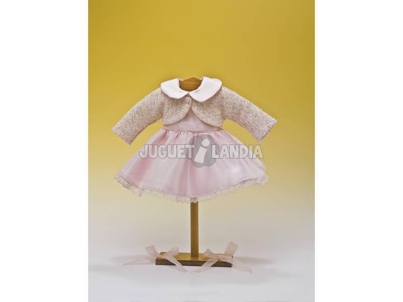 Vestido Shantung Rosa Jaqueta Chanel