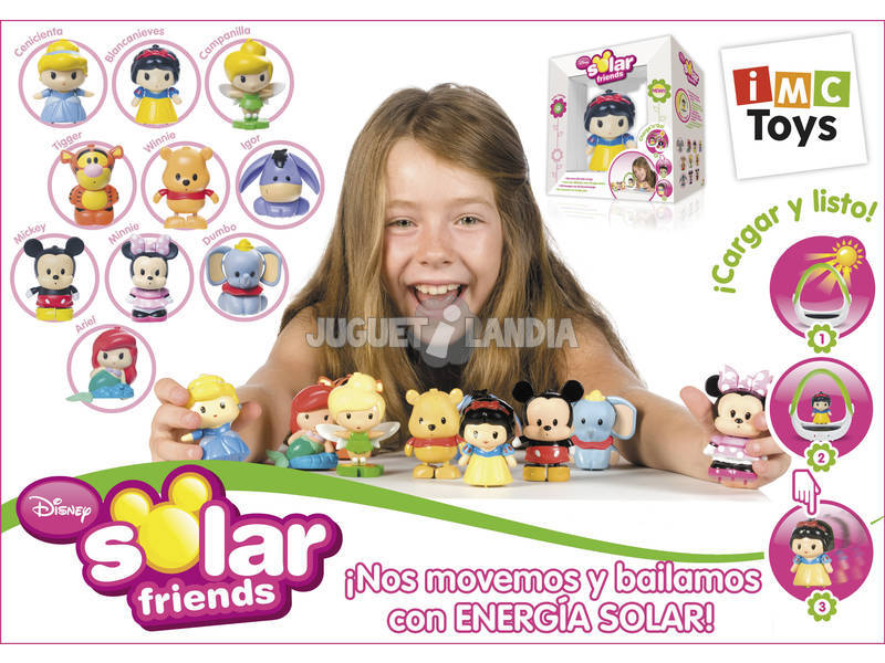 Solar Friends Figuras Sortidas Disney