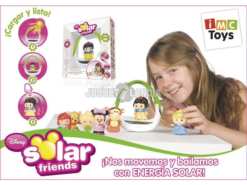 SOLAR FRIENDS FIGURAS + BASE SOLAR