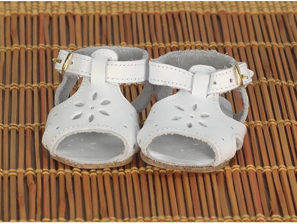Sandali pelle bianchi
