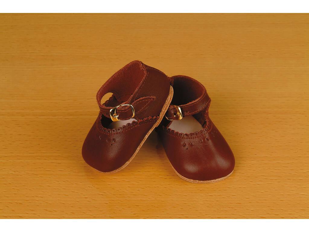 Zapato Merceditas Granate Mariquita Pérez MP30022
