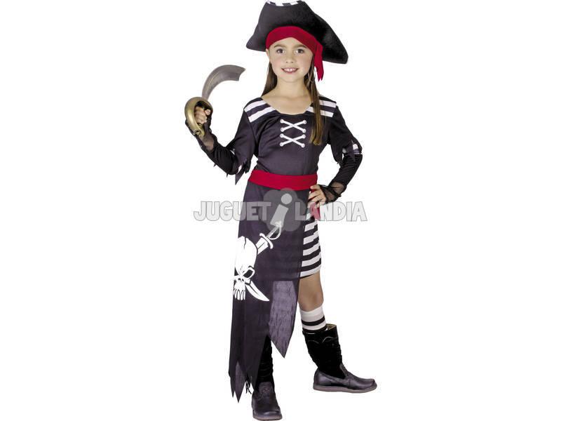 Disfraz Pirata Niña Talla L